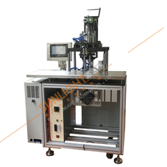 SLT-KZ12 Semi Automatic KN95 Mask Double Ear loop Sealing Machine