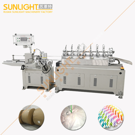 SULAITE-200 High Speed 7 Cutting Knife System Paper Straw Making Machine