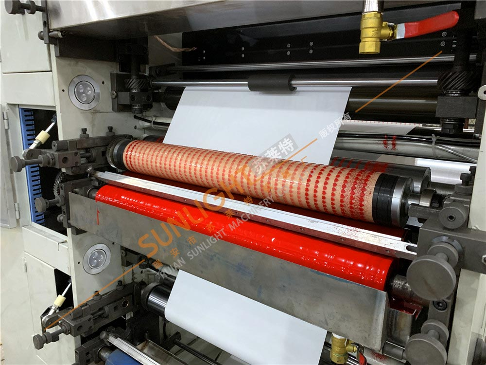 Ruian Sunlight Machinery Co Ltd Mail: Straw Paper Flexo Printing Machine From China Manufacturer